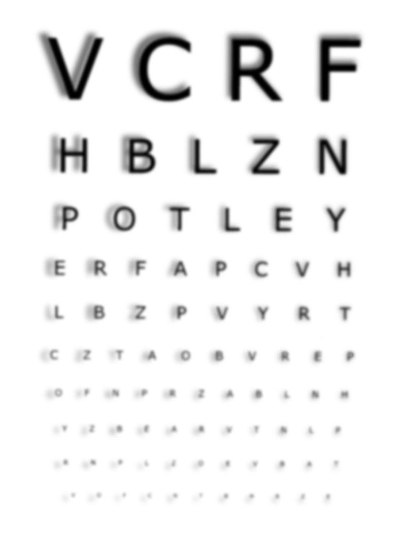 Myopic and astigmatic view